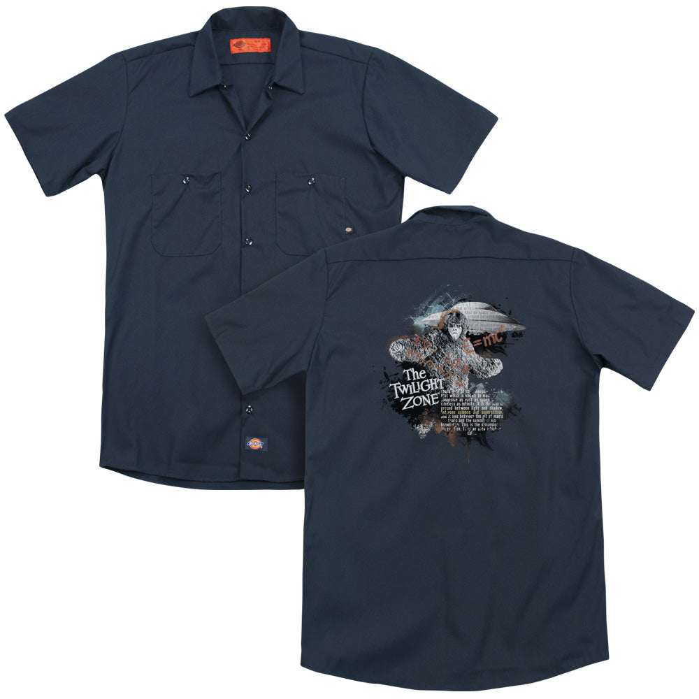 Twilight Zone Science&superstition Adult Work Shirt