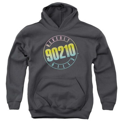 Beverly Hills 90210 Color Blend Logo Youth Hoodie (Ages 8-12)
