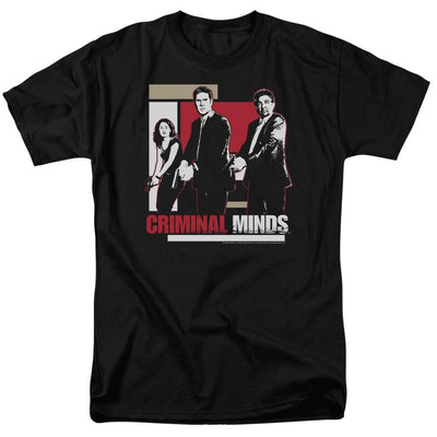 Criminal Minds Guns Drawn Men's Regular Fit T-Shirt