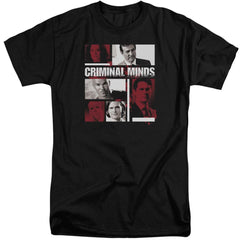 Criminal Minds Character Boxes Adult Tri-Blend T-Shirt