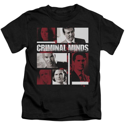 Criminal Minds Character Boxes Kid's T-Shirt (Ages 4-7)