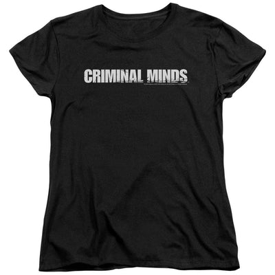 Criminal Minds Logo Women's T-Shirt