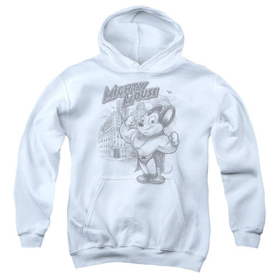 Mighty Mouse Protect And Serve Youth Hoodie (Ages 8-12)