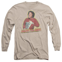 Mork & Mindy Mork Iron On Adult Long Sleeve T-Shirt