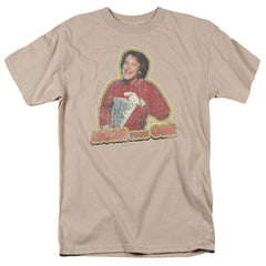 Mork & Mindy Mork Iron On Adult Regular Fit T-Shirt