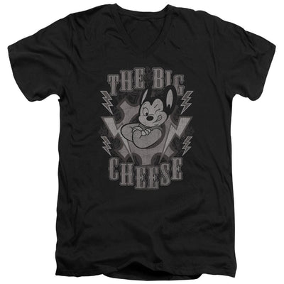 Mighty Mouse The Big Cheese Men's V-Neck T-Shirt