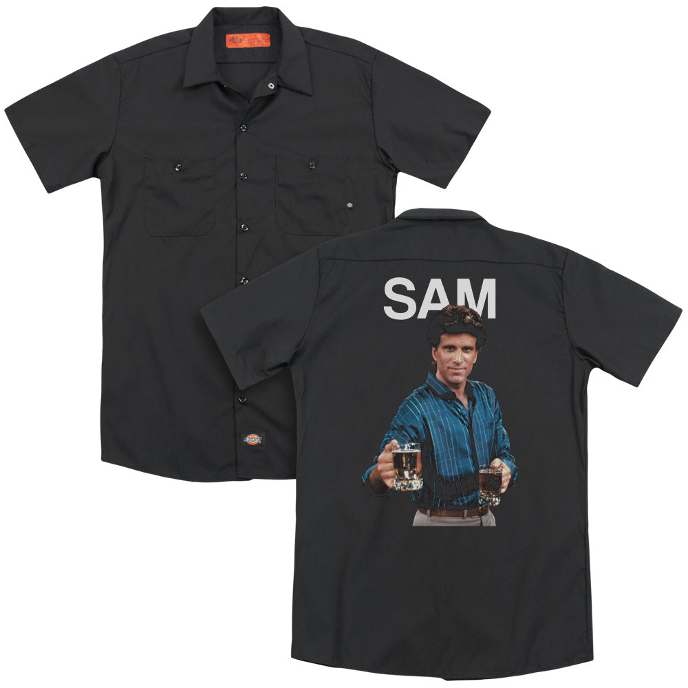 Cheers Sam Adult Work Shirt