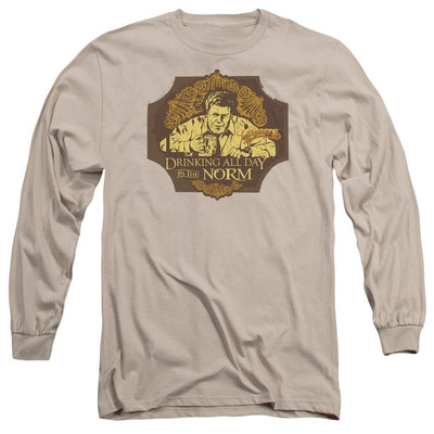 Cheers The Norm Men's Long Sleeve T-Shirt