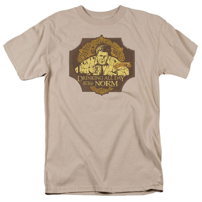 Cheers The Norm Men's Regular Fit T-Shirt