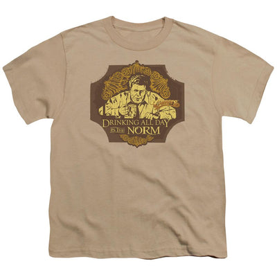 Cheers The Norm Youth T-Shirt (Ages 8-12)