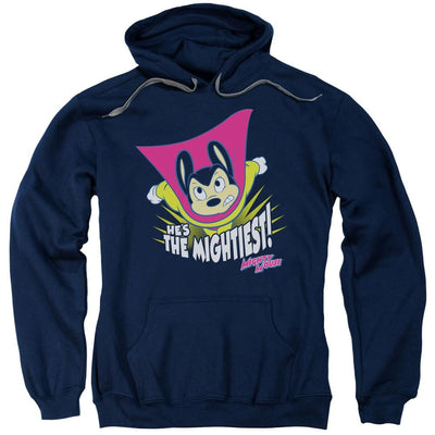 Mighty Mouse The Mightiest Pullover Hoodie