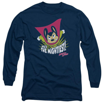 Mighty Mouse The Mightiest Men's Long Sleeve T-Shirt