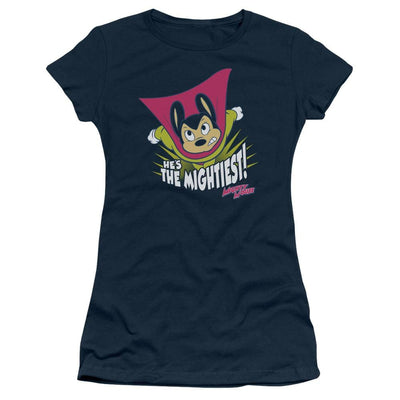 Mighty Mouse The Mightiest Juniors T-Shirt