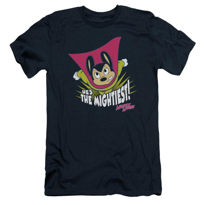 Mighty Mouse The Mightiest Men's Slim Fit T-Shirt