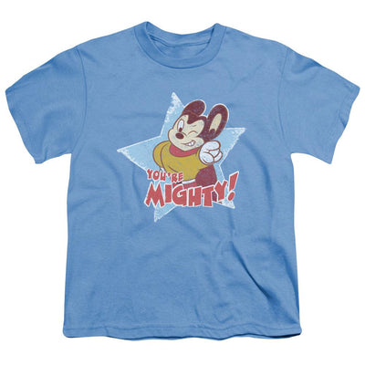 Mighty Mouse Youre Mighty Youth T-Shirt (Ages 8-12)