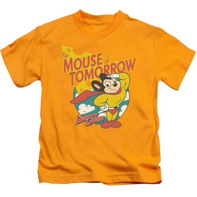 Mighty Mouse Mouse Of Tomorrow Kid's T-Shirt (Ages 4-7)