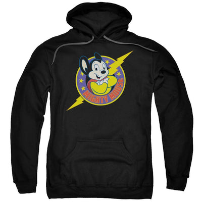 Mighty Mouse Mighty Hero Pullover Hoodie
