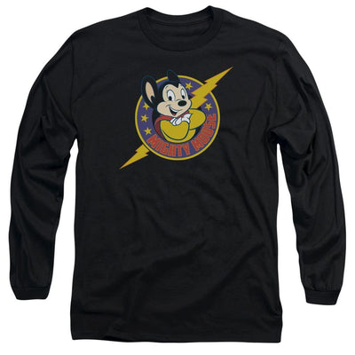 Mighty Mouse Mighty Hero Men's Long Sleeve T-Shirt