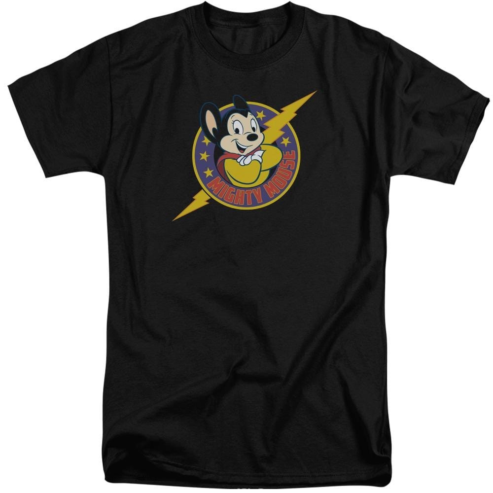 Mighty Mouse Mighty Hero Adult Tri-Blend T-Shirt