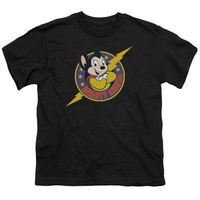 Mighty Mouse Mighty Hero Youth T-Shirt (Ages 8-12)