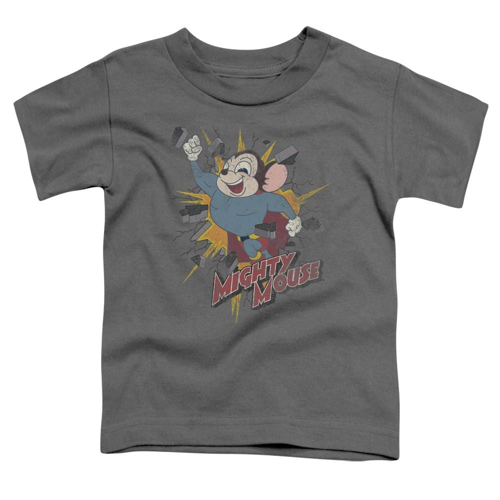 Mighty Mouse Break Through Toddler T-Shirt