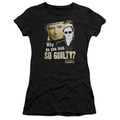 CSI: Miami So Guilty Juniors T-Shirt