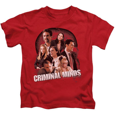 Criminal Minds Brain Trust Kid's T-Shirt (Ages 4-7)