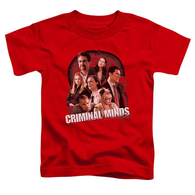 Criminal Minds Brain Trust Toddler T-Shirt