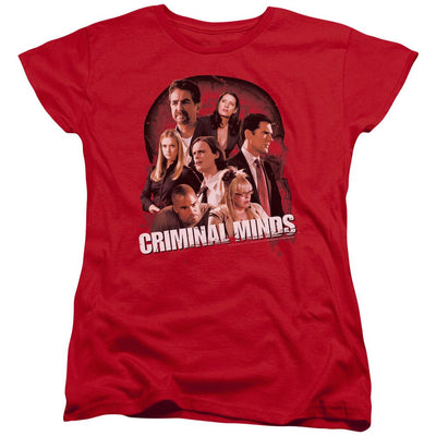 Criminal Minds Brain Trust Women's T-Shirt