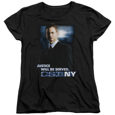 CSI: NY Justice Served Women's T-Shirt