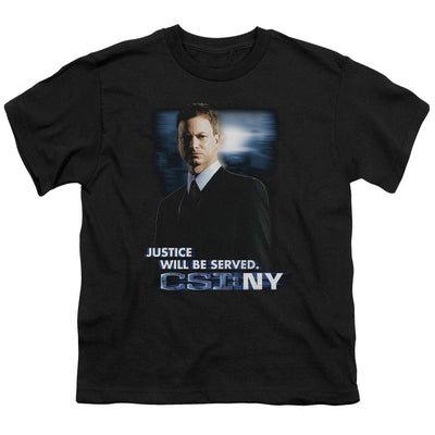 CSI: NY Justice Served Youth T-Shirt (Ages 8-12)
