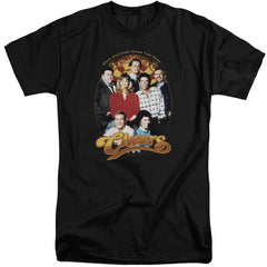 Cheers Group Shot Adult Tall Fit T-Shirt