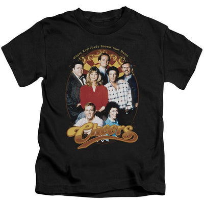 Cheers Group Shot Kid's T-Shirt (Ages 4-7)