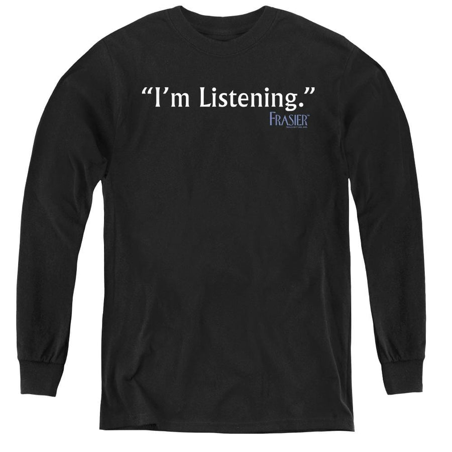Frasier Im Listening - Youth Long Sleeve T-Shirt