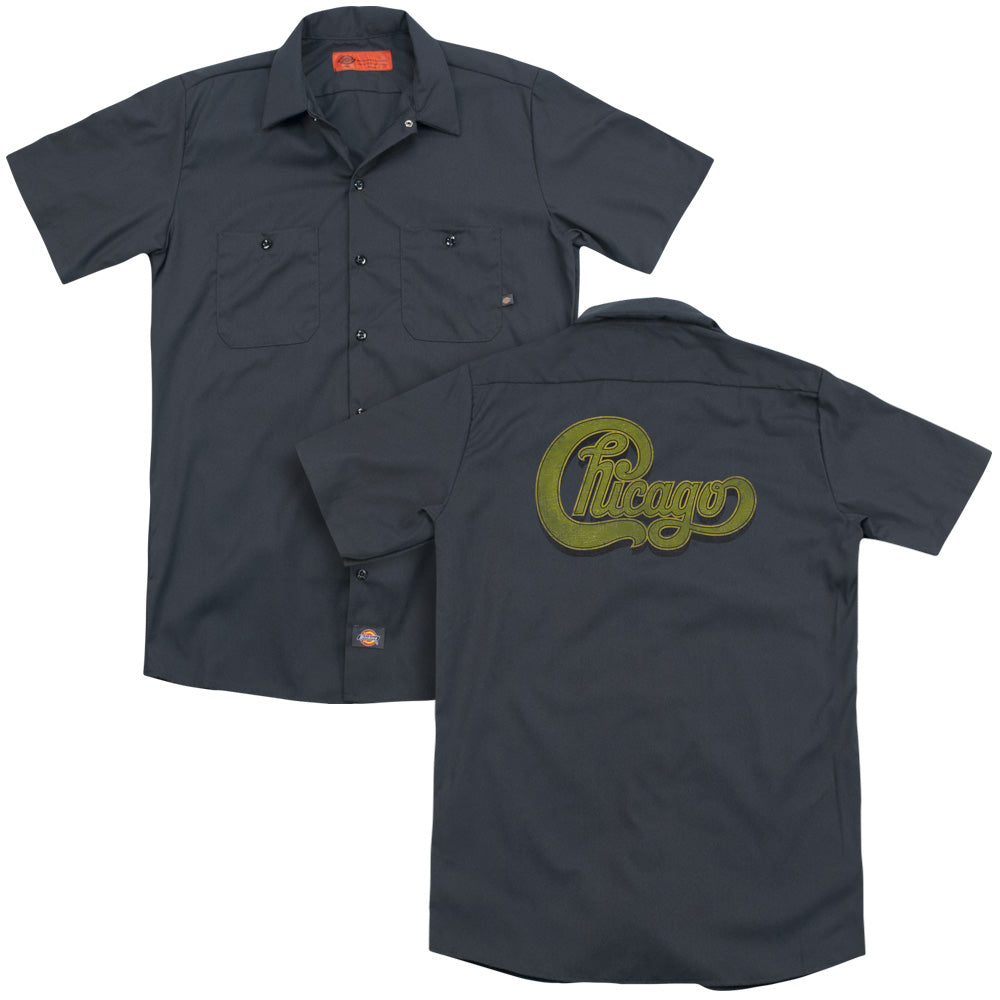 Chicago Distressed Adult Work Shirt