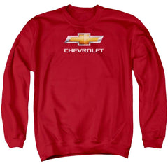 Chevy - Chevy Bowtie Stacked Adult Crewneck Sweatshirt