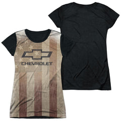 Chevrolet - American Pride Junior All Over Print 100% Poly T-Shirt