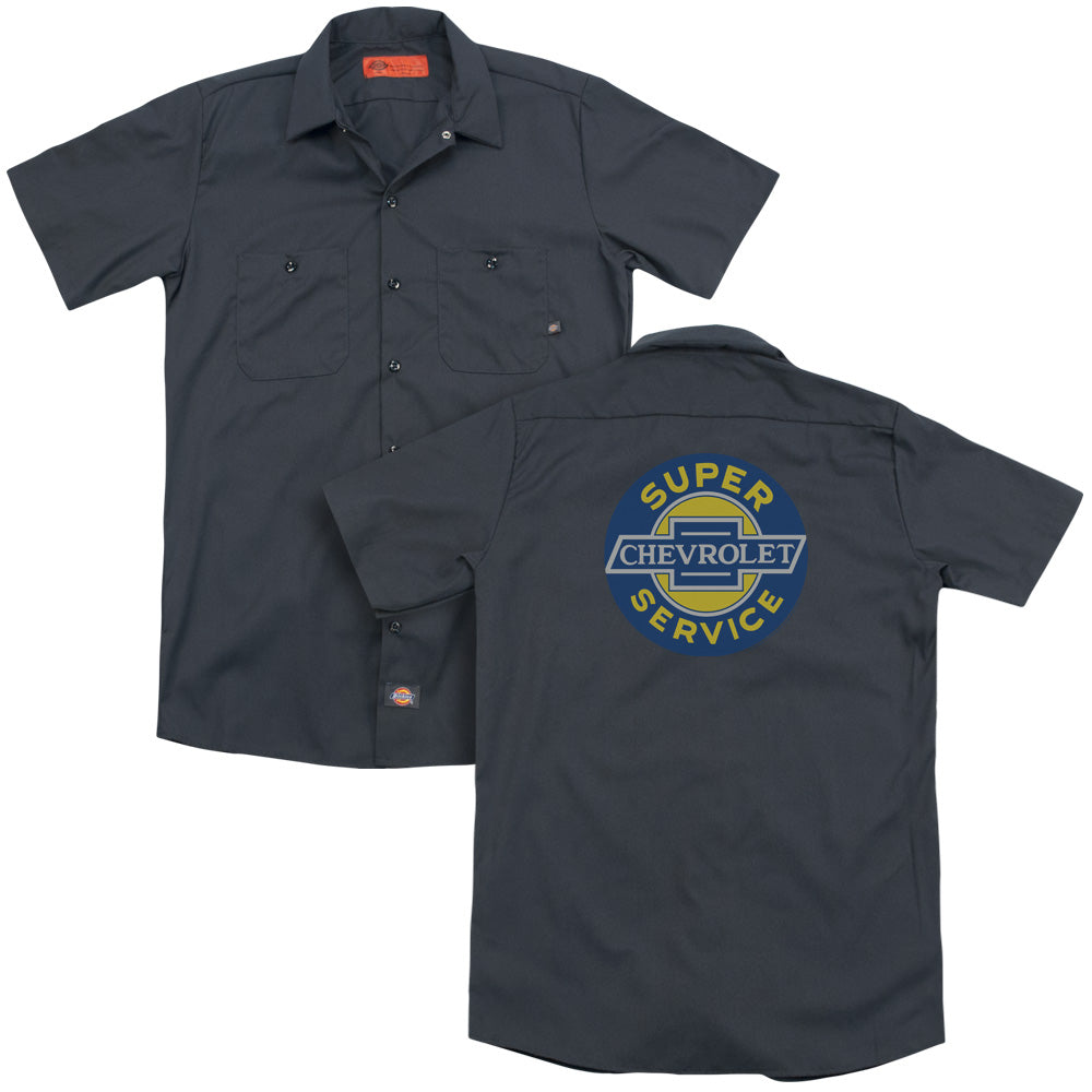 Chevy - Super Service Adult Work Shirt