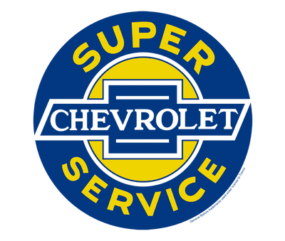 Chevrolet Chevy Super Service Men's Crewneck Sweatshirt