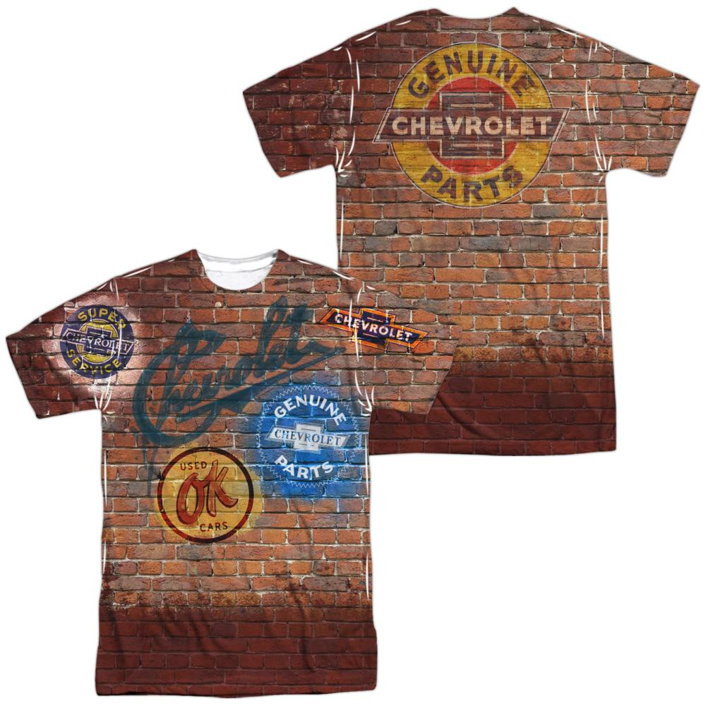 Chevrolet Chevy Shop Wall Adult All Over Print 100% Poly T-Shirt