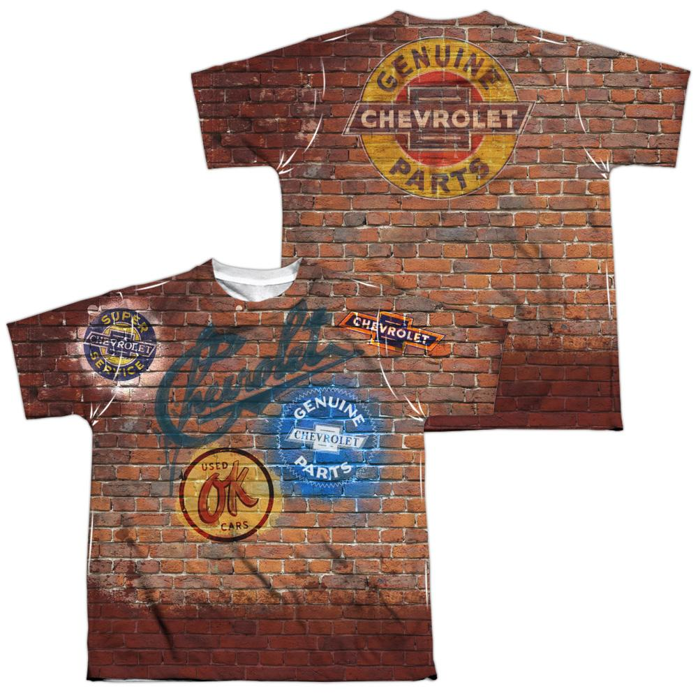 Chevrolet - Chevy Shop Wall Youth All Over Print 100% Poly T-Shirt