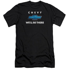 Chevrolet We'll Be There Adult Slim Fit T-Shirt