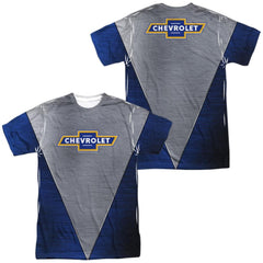 Chevrolet Shiny Chevy Logo Adult All Over Print 100% Poly T-Shirt