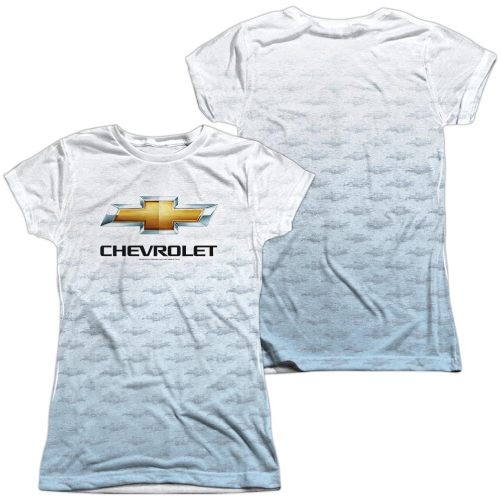 Chevrolet Heartbeat Road Junior All Over Print 100% Poly T-Shirt