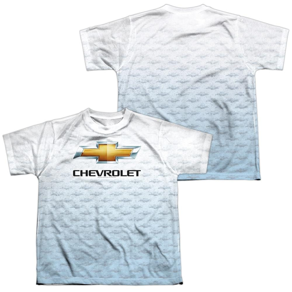 Chevrolet Heartbeat Road Youth All Over Print 100% Poly T-Shirt