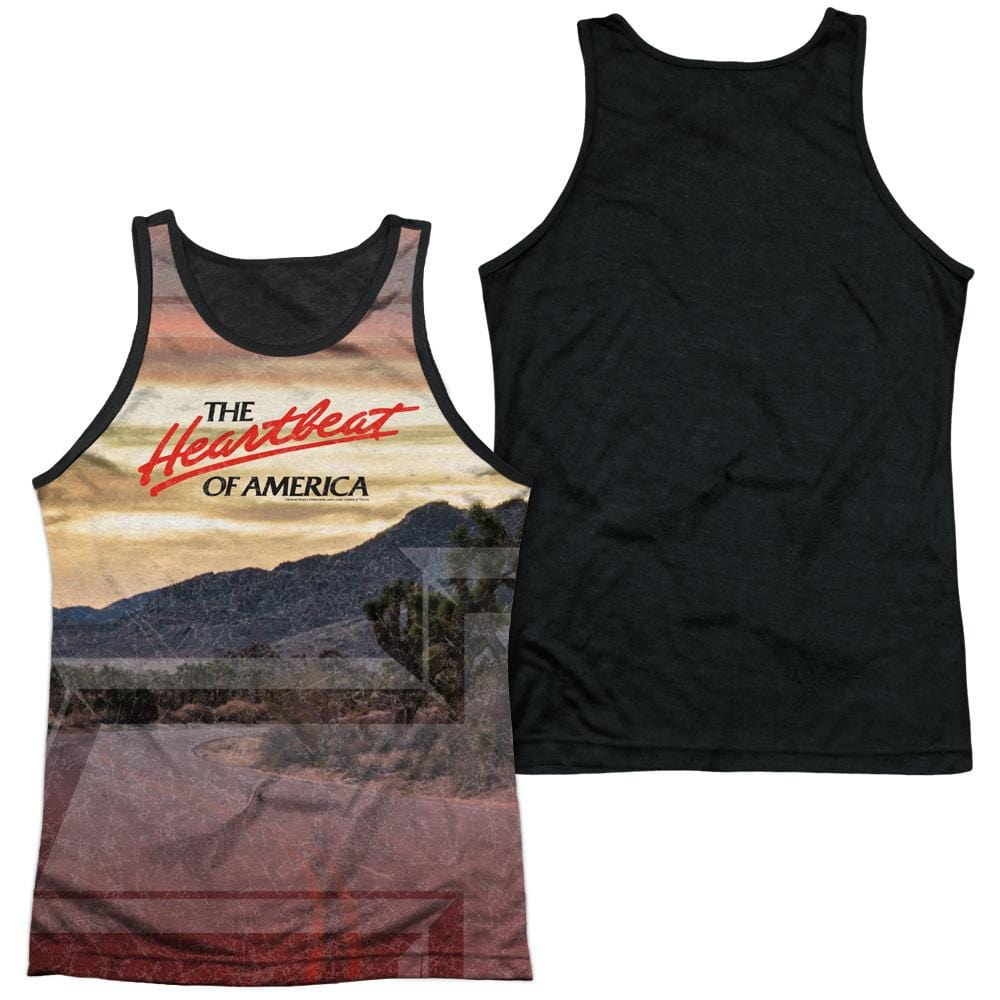 Chevrolet - Heartbeat Road Adult Tank Top