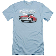 Chevrolet Bel Air Clouds Adult Slim Fit T-Shirt