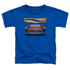 Chevy - 1957 Bel Air Grille Toddler T-Shirt