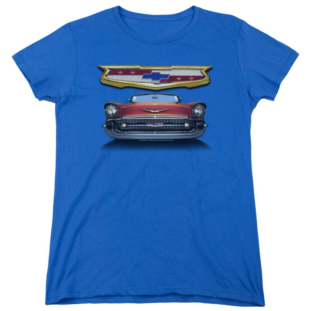 chevy 1957 bel air grille women 39 s t shirt sons of gotham. Black Bedroom Furniture Sets. Home Design Ideas