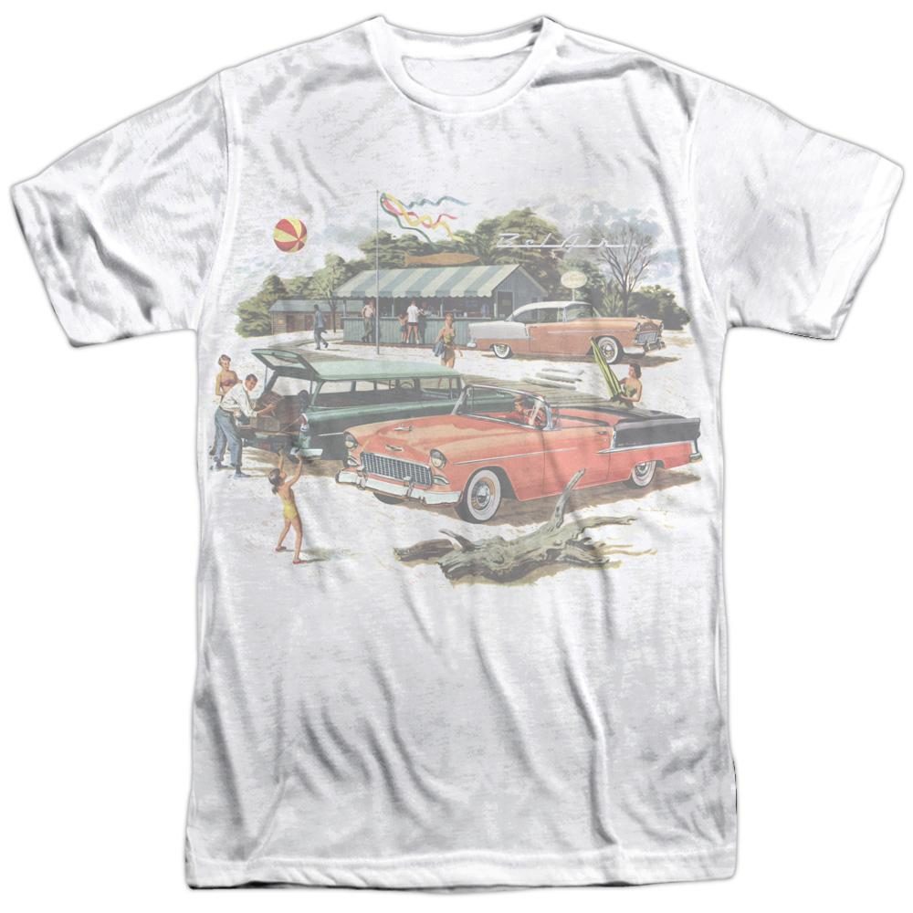 Chevy - Washed Out Adult All Over Print 100% Poly T-Shirt